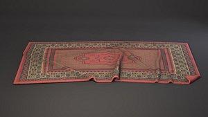 carpet rug fabric 3D model