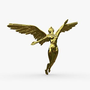 3D Angel Woman. Female model model