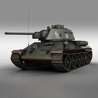 T-34-76 - Model 1943 - Soviet medium tank - K35