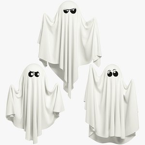 Funny Ghosts Collection V1 3D model