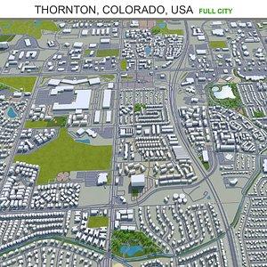 Thornton Colorado USA 3D model