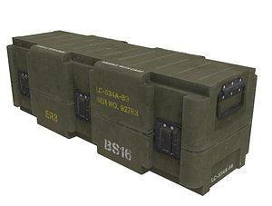 Army Box 3D model