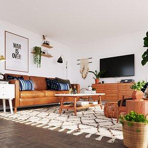 scene furniture room 3D