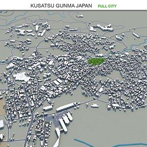 Kusatsu Gunma Japan 3D model