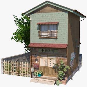 building store shop 3D model