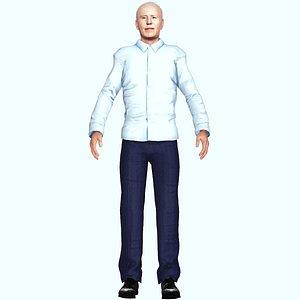 3D model joe biden