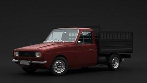 3D anadol 1970 pickup model