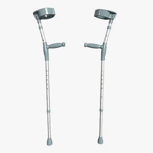 Forearm Crutches model