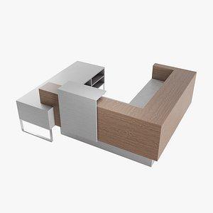 3D table desk furniture