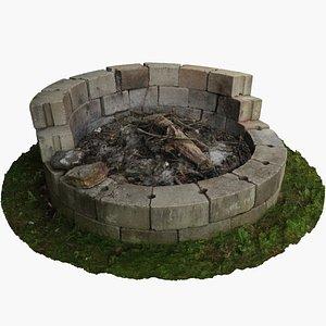 3D Fire Pit Photoscan