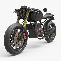 Electric Motorcycle E-Cafe