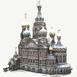 Church of the Savior on Blood 3D model