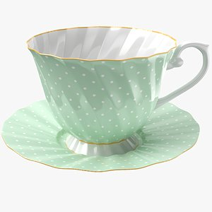 Classic Coffee Cup 3D