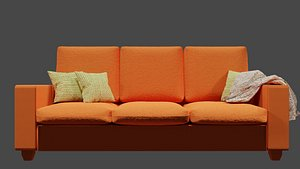 sofa furniture 3D model