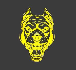 3D logo dog