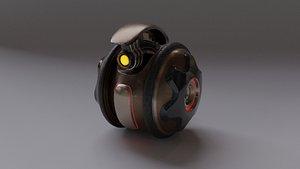 3D Robot KP120 v2021 model