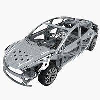 Tesla Model 3 Frame Chassis