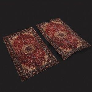 3D model Persian Carpet Design One