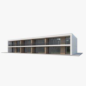 3D Apartment House 018