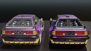 3D CyberCar model