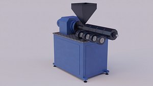 3D model extruder polymers