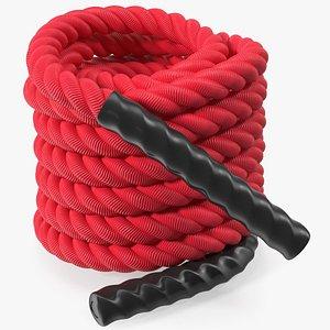 3D Heavy Training Rope Folded