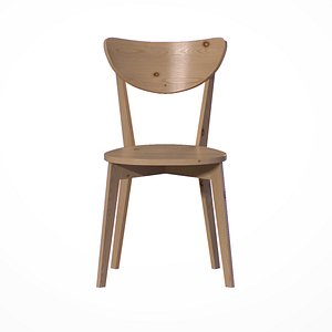 3D Bangkok Dining Chair pine wood