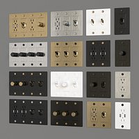 buster punch US wall switch sockets
