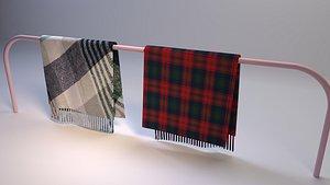 wool blanket 3D