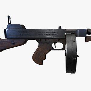 Thompson submachine gun model