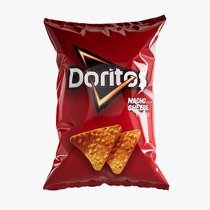 chips packaging 3D model