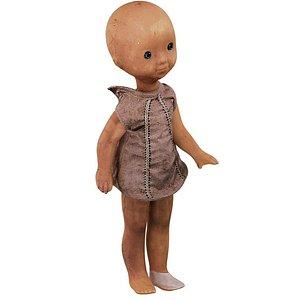 Small Doll USSR 04 01 3D model