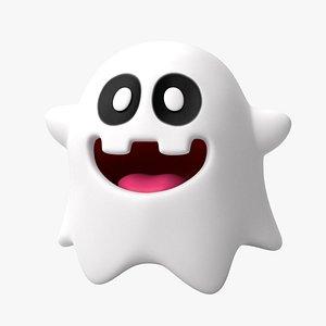 peepa ghost 3D model