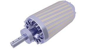 3D rotor electric motor model