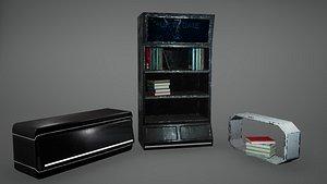 Bookcase 3D