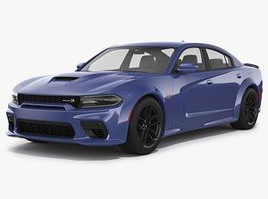 Dodge Charger Scat Pack Widebody 2021 3D model