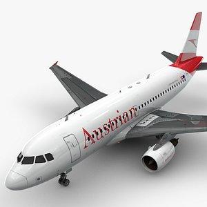 3D AirbusA319-100Austrian AirlinesL1409
