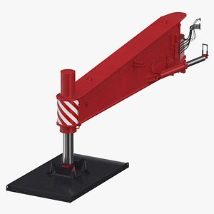 crane outrigger large 02 3D