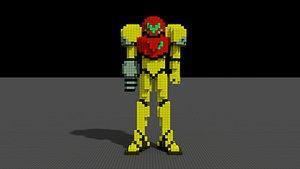 3D model Samus-Super Metroid