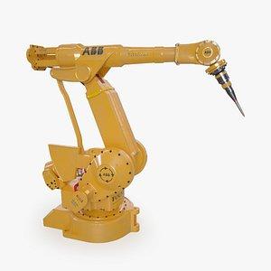 3D Industrial Robot model