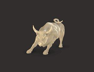 Horizontal Bull Parametric 3D