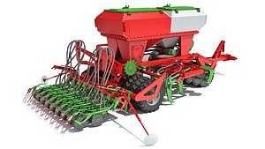 seed seeder trailed 3D