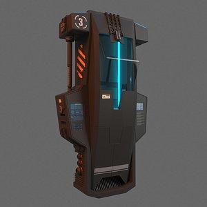 Hypersleep Chamber model