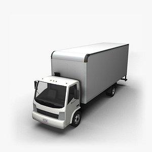 90s Truck Dump CT 3D model