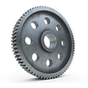 3D Metalic gear v3 model