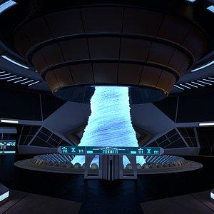 room engineering spaceship 3D