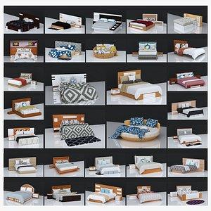 30 BEDS VOLUME - 1,2,3 3D model
