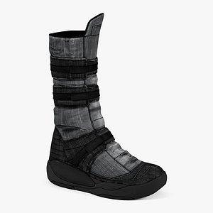 women boots cr 04 3D model