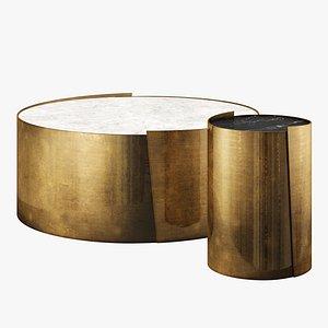 3D model Kelly Wearstler alta side  coffee table