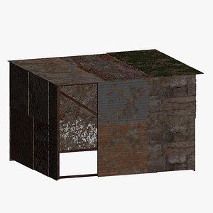 Tin Shack 3D model